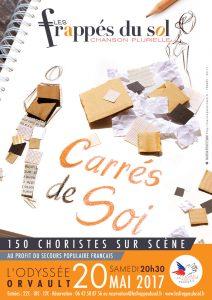 LE SECOURS POPULAIRES présente LES FRAPPÉS DU SOL : 150 choristes sur scène