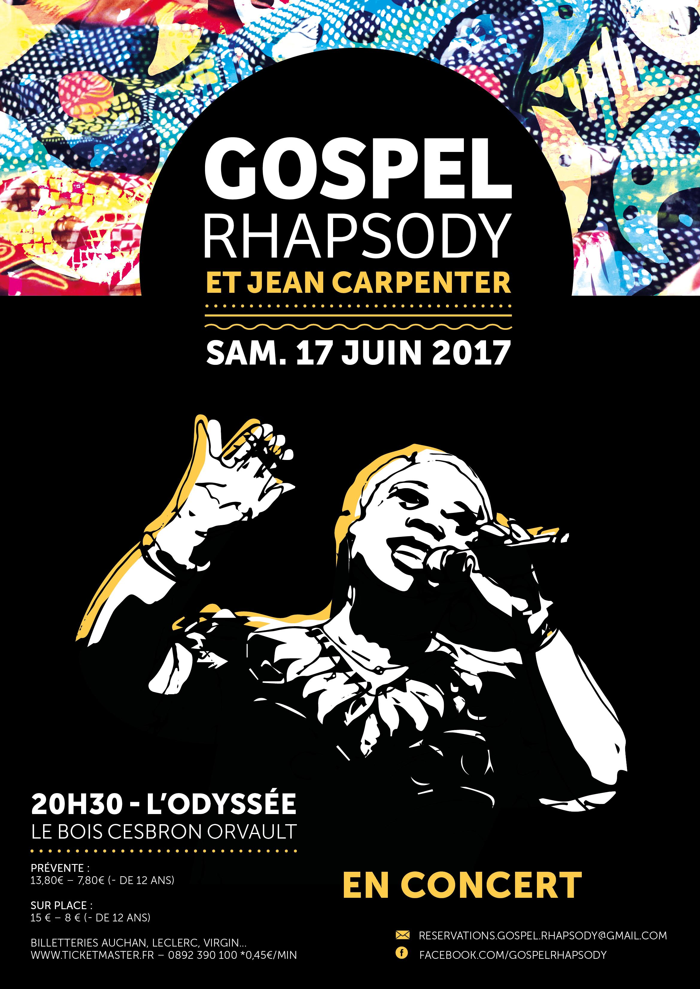 GOSPEL RHAPSODY ET JEAN CARPENTER