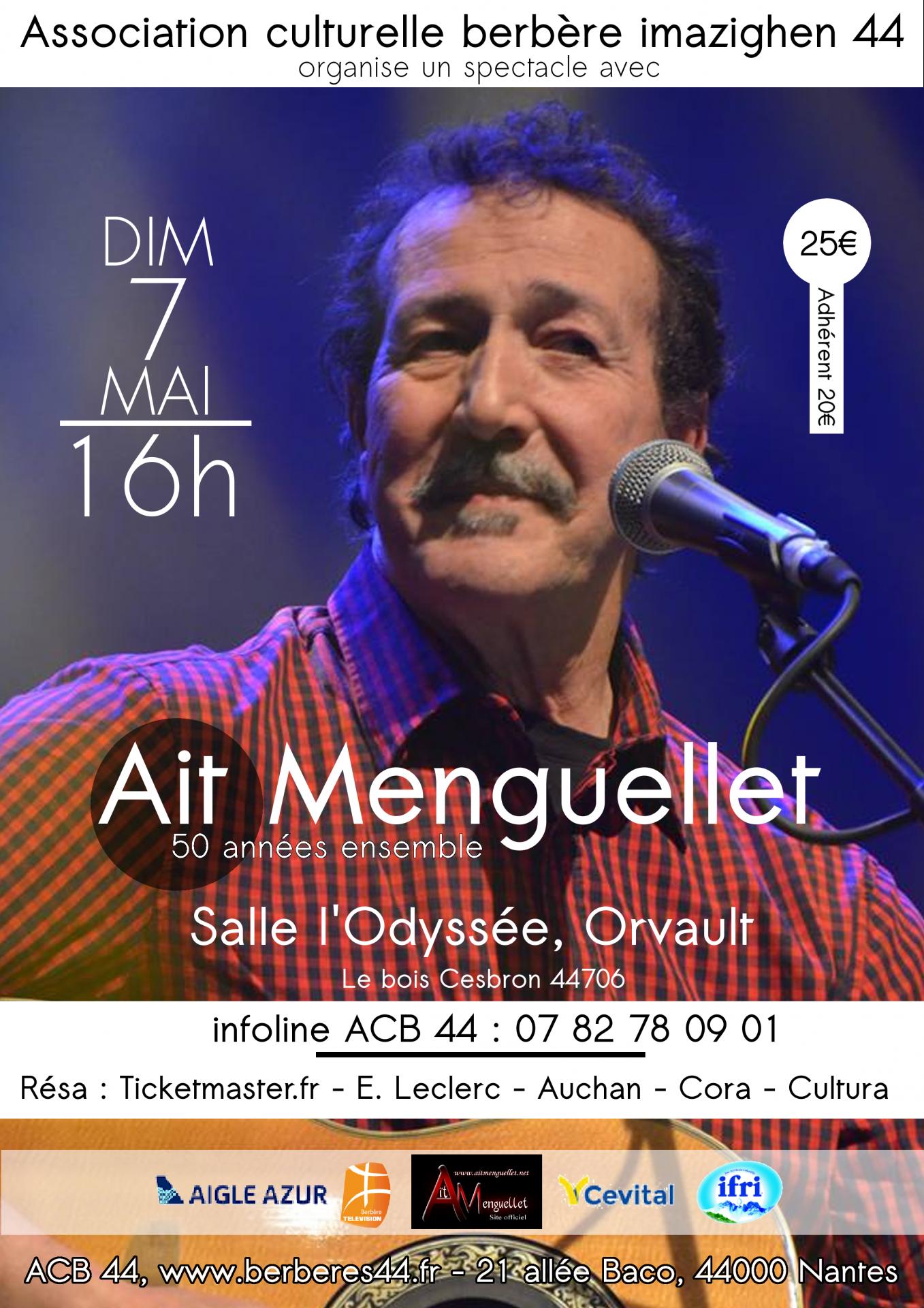 ACB 44 propose en concert AIT MENGUELLET