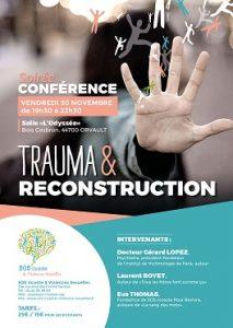"""SOS INCESTE conférence """"TRAUMA & RECONSTRUCTION"""""""