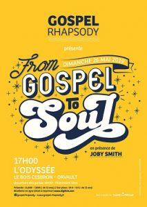GOSPEL RHAPSODY présente FROM GOSPEL TO SOUL