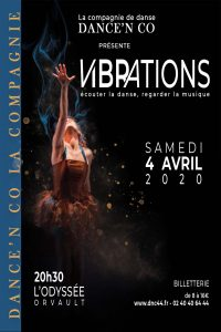 "DANCE'N CO présente ""VIBRATIONS"""